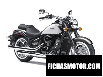Ficha técnica Kawasaki vulcan 900 Classic 2012