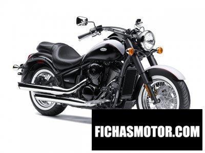 Imagen moto Kawasaki vulcan 900 Classic año 2013