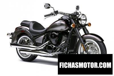 Ficha técnica Kawasaki vulcan 900 Classic 2014