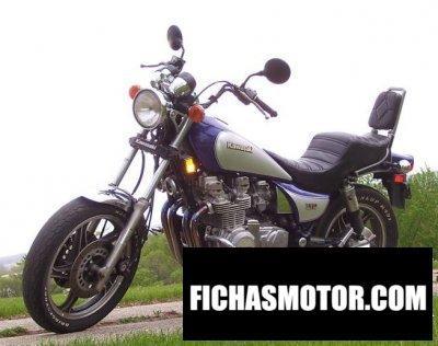 Imagen moto Kawasaki vulcan vn700-a1 año 1985