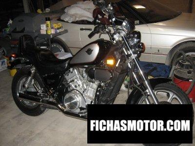 Imagen moto Kawasaki vulcan vn750 año 2002