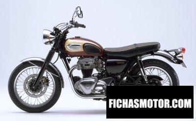 Imagen moto Kawasaki w 650 año 1999