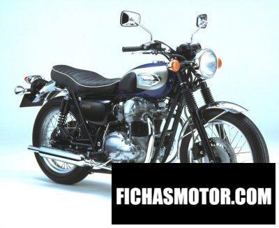 Imagen moto Kawasaki w 650 año 2002