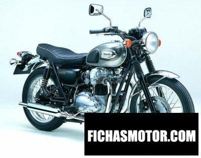 Imagen moto Kawasaki w 650 año 2003