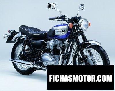 Imagen moto Kawasaki w 650 año 2004