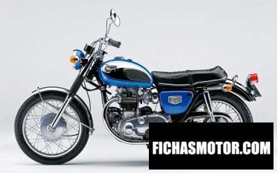 Imagen moto Kawasaki w1 año 1965
