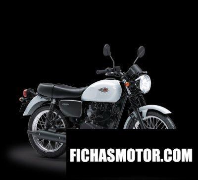 Imagen moto Kawasaki w175 año 2018