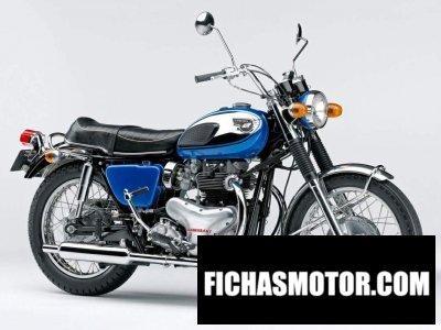 Imagen moto Kawasaki w2 año 1966
