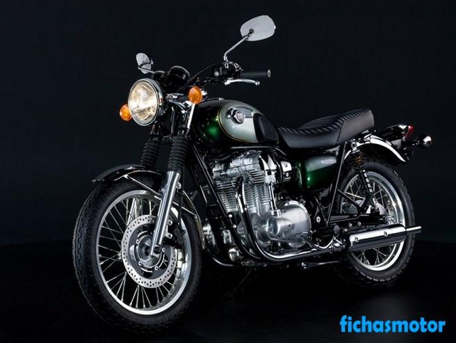 Imagen moto Kawasaki w800 año 2011