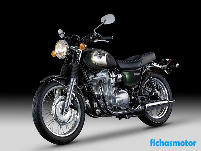 Imagen moto Kawasaki w800 año 2012