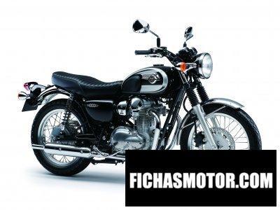Imagen moto Kawasaki w800 año 2013