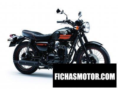 Imagen moto Kawasaki w800 año 2014