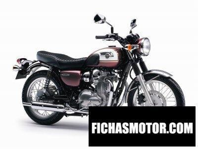 Ficha técnica Kawasaki w800 2015