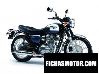Imagen moto Kawasaki w800 año 2016
