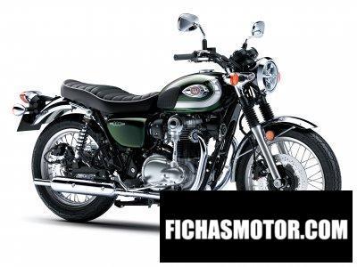 Ficha técnica Kawasaki W800 2020