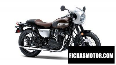 Imagen moto Kawasaki W800 Cafe año 2019