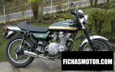 Ficha técnica Kawasaki z 1000 1976