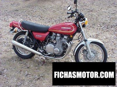 Ficha técnica Kawasaki z 1000 1977