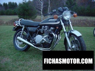 Imagen moto Kawasaki z 1000 año 1978