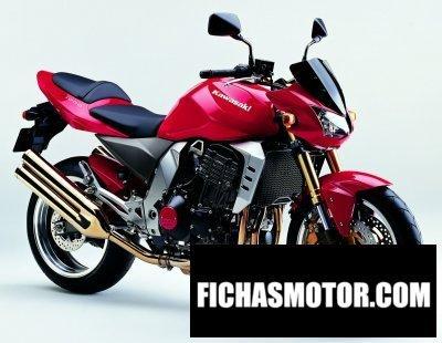 Imagen moto Kawasaki z 1000 año 2004