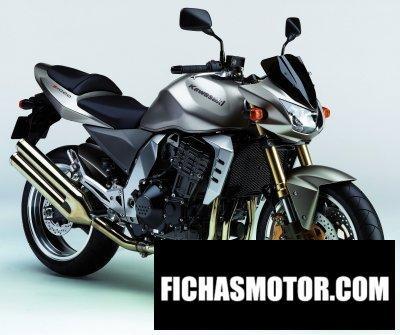 Imagen moto Kawasaki z 1000 año 2006