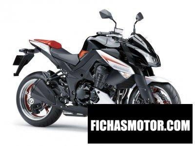 Ficha técnica Kawasaki z 1000 abs Special Edition 2013