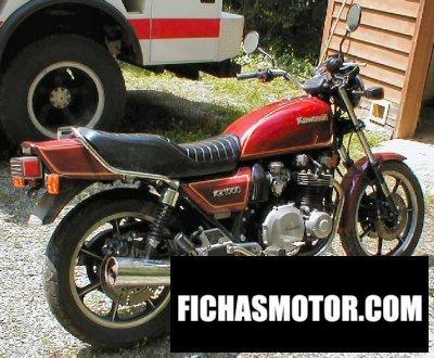 Ficha técnica Kawasaki z 1000 j 1981