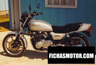 Imagen moto Kawasaki z 1000 j año 1982
