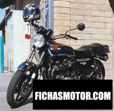 Ficha técnica Kawasaki z 1000 mk ii 1979