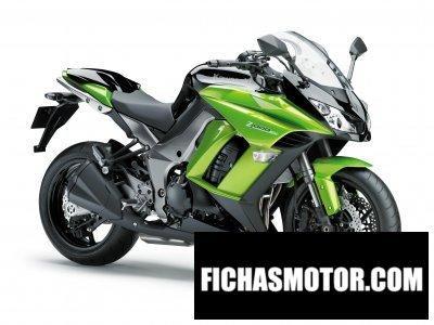 Imagen moto Kawasaki z 1000 sx año 2011