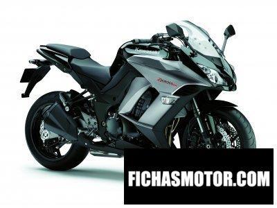 Imagen moto Kawasaki z 1000 sx año 2012