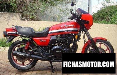 Imagen moto Kawasaki z 1100 gp año 1982