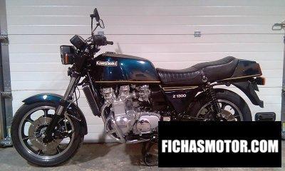 Ficha técnica Kawasaki z 1300 1979