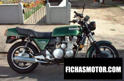 Imagen moto Kawasaki z 1300 año 1980