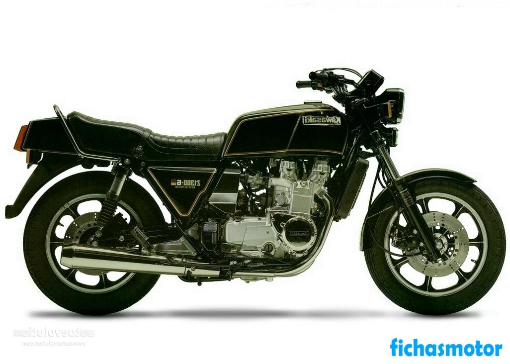 Imagen moto Kawasaki z 1300 año 1981
