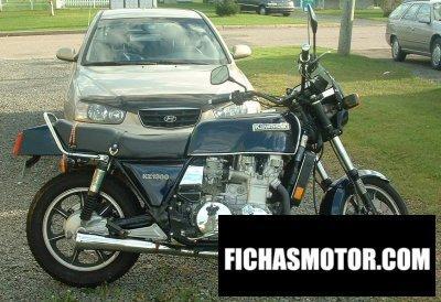 Ficha técnica Kawasaki z 1300 1982