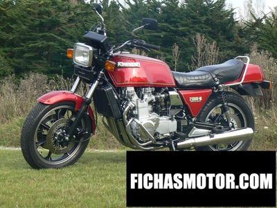 Imagen moto Kawasaki z 1300 dfi año 1989