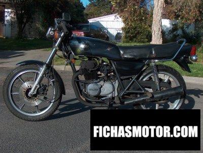 Ficha técnica Kawasaki z 250 1979