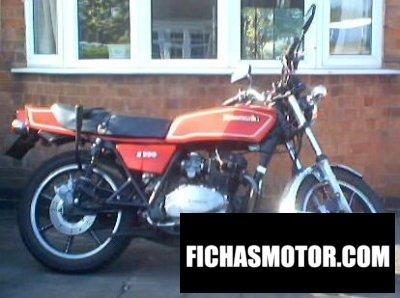 Ficha técnica Kawasaki z 250 a 1981