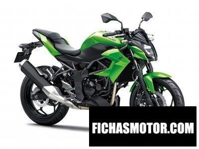 Ficha técnica Kawasaki z 250sl abs 2015