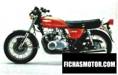 Imagen moto Kawasaki z 400 año 1974