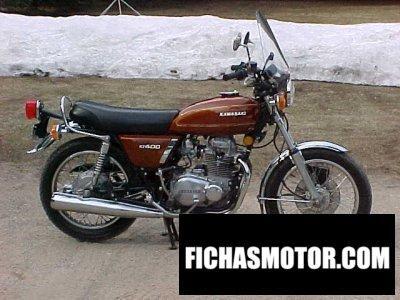 Imagen moto Kawasaki z 400 año 1976