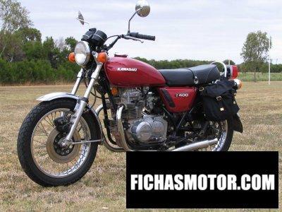Imagen moto Kawasaki z 400 año 1977