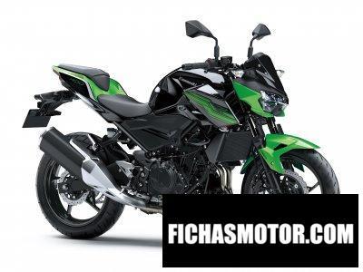 Ficha técnica Kawasaki Z 400 ABS 2019