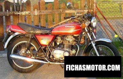 Ficha técnica Kawasaki z 400 b 1978