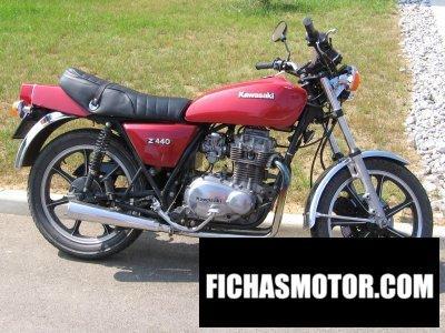 Imagen moto Kawasaki z 400 b año 1980