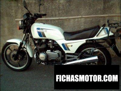Ficha técnica Kawasaki z 400 f 1985