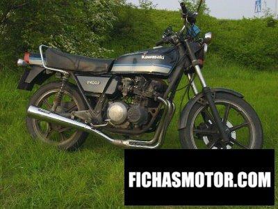 Imagen moto Kawasaki z 400 j año 1983