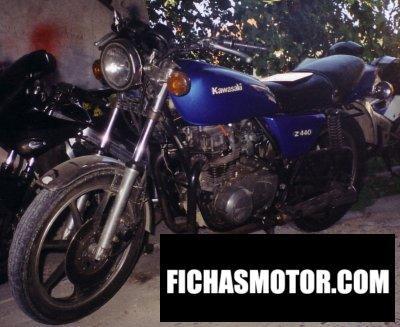 Ficha técnica Kawasaki z 440 c 1981