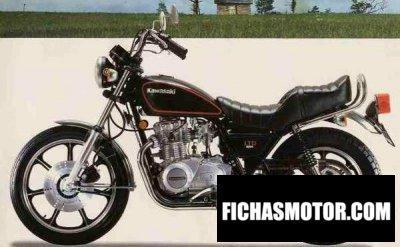 Ficha técnica Kawasaki z 440 ltd 1982
